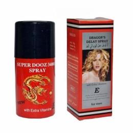 Спрей пролонгатор для мужчин Dragons Delay Spray 34000 ( Дракон 34000) с витамином Е - 45 мл